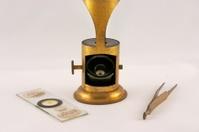 Antique Brass Microscope