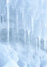 Ice pillar.