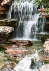 Water fall in a mountain