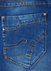 jeans blue pocket texture