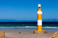 Lighthouse warning light for sharks