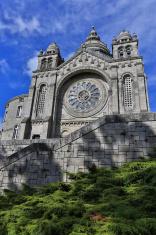 HDR Picture of Santa Luzia Sanctuary, Portugal