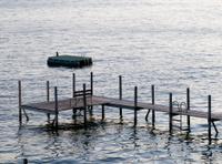 Boardwalk in Lake Okoboji, Iowa