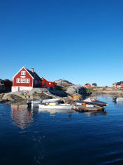 Oqaatsut fisher village, Greenland