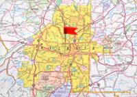 Atlanta on the Map