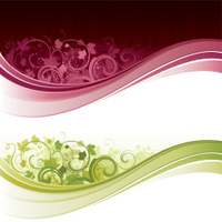 Wine flow design backgrounds