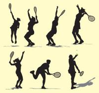 Tennis Serve - Female