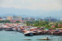 Water village in Kota Kinabalu