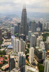 Skyline of Kuala Lumpur