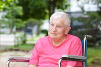 Senior Woman in Wheelchair