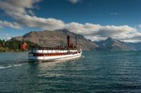 Old Steamer on Lake Wakatipu