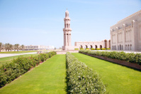 Muscat, Oman, Sultan Qaboos. Grand Mosque