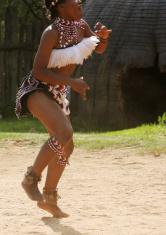 Zulu Dancer Movement