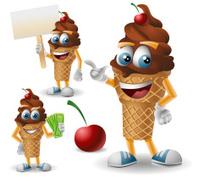 Mr. Choco Ice Cream: 3 in 1