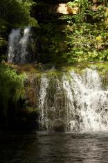 "Double Waterfall ""Lower Ddwli"" at Pontneddfechan"