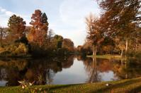 Wilhelmina Park in Autumn -- Utrecht, The Netherlands