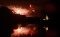 Fireworks in Austria