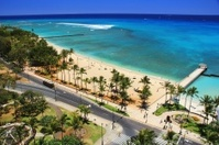 Waikiki beach Honolulu Hawaii Oahu Pacific ocean scenic