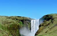 Iceland: Waterfall at Skogar (Skogafoss)