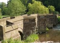 Holme Hall Foot bridge.