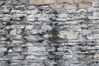 Exterior Stone Wall of Old Building Background