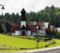 Church in Polish Village