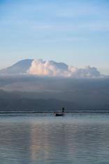 seaweed farmer nusa lembongan bali volcano