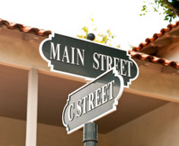 Main Street small town America