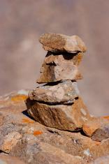 Zen stone stack