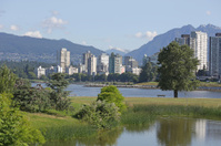 Vancouver's West End Neighbourhood in Summer