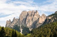 Dolomites seen from Pera di Fassa