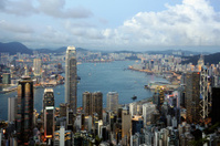 View of Hong Kong Skyline