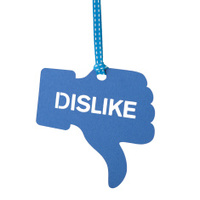 Thumbs down Dislike