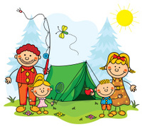 Family Camping Kids