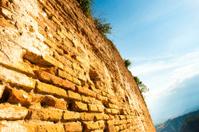 Wall of Taormina Greek Theater