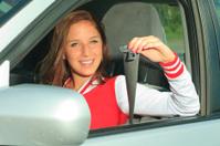 New Driver Teenager - Attach Belt