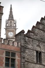 Ghent medieval city in Belgium