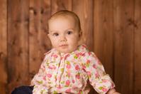 Serious Baby Girl
