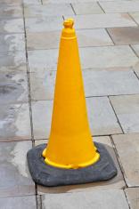 Yellow cone