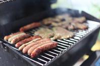 sausage at barbecue