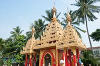 Dharmikarama Burmese Temple,Penang, Malaysia
