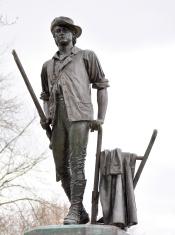 Minute Man Statue Concord MA
