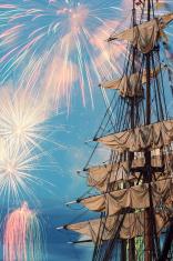 Tall Ship Fireworks