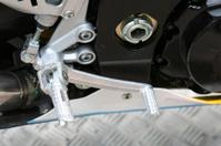 Racing bike gear change lever