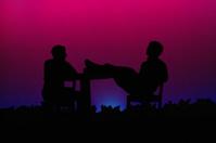 passionate silhouette.