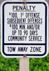 Tow Away Zone