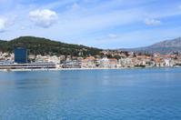 Split harbour and Marjan hill - Dalmatia, Croatia