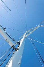Sail boat mast