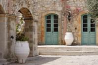 Idyllic Courtyard
