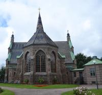 Church in Falkenberg, Sweden